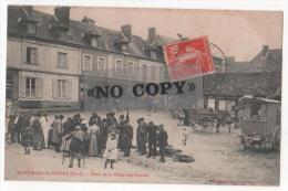 SAINT-GEORGES-DU-VIEVRE   -(Eure)  -  Place De La Halle-aux-grains   -  ( Animation , Roulotte , Attelage ) - Other Municipalities