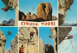 J-CINQUE TORRI -BOLZANO-VEDUTINE ARRAMPICATA - Climbing