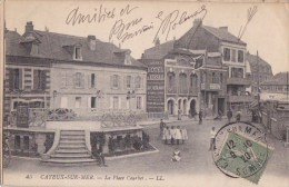 80 CAYEUX Sur MER  KIOSQUE à MUSIQUE  Place Courbet Enfants Timbré 1920 - Cayeux Sur Mer