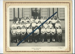 Photo D'école De Classe - Institutions Notre Dame De Lille 1955 - 1956 - Photographs