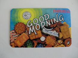 Cookies Biscuits Bolachas Imperial Portugal Portuguese Pocket Calendar 1983