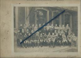 1 Photo  De Classe D´école  Collée Sur Carton - Lycée Faidherbe - Lille -  1926 -   6 Scans - Photographs