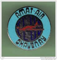 AVION *** CLUB AMAT-AIR - CHAVENAY *** (107-1) - Avions