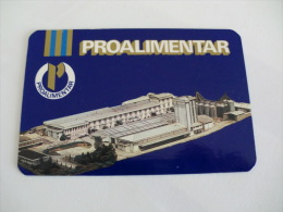 Cookies Biscuits Bolachas Proalimentar Portugal Portuguese Pocket Calendar 1988