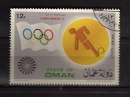 State Of Oman - Olimpic Munchen 1972. .   Oblitéré.  Vedi Desrizione - Oman