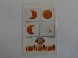 Cookies Biscuits Bolachas Cu�tara Portugal Portuguese Pocket Calendar 1989