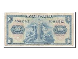 Allemagne, 10 Deutsche Mark Type 1949 - [ 7] 1949-… : FRG - Fed. Rep. Of Germany