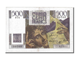 500 Francs Type Chateaubriand - 1871-1952 Circulated During XXth