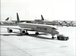 23793 AVIATION AVIACION GERMANY AIRLINES LUFTHANSA GERMAN CARGO AIRPORT 24.5 X 18 CM PHOTO NO POSTAL POSTCARD - Ohne Zuordnung