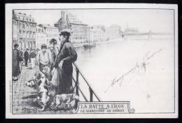 591 - BELGIQUE  - LIEGE - La Batte A LIEGE - Le Marchand De Chiens - Dos Non Divisé - Herstal