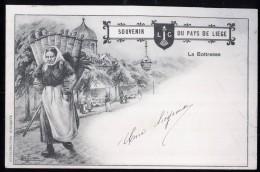 595 - BELGIQUE  - LIEGE - SOUVENIR DU PAYS DE LIEGE - La Bottresse - Dos Non Divisé - Herstal