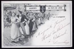 596 - BELGIQUE  - LIEGE - SOUVENIR DU PAYS DE LIEGE - Les Cramignons - Dos Non Divisé - Herstal