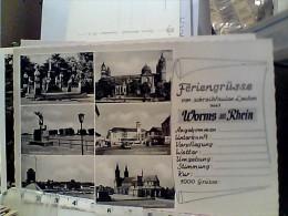 GERMANY  Deutschland - FERIENGRUSSE WORMS AM  RHEIN  N1950  FC6229 - Worms