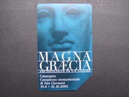 506 GOLDEN EURO - MAGNA GRECIA ARCHEOLOGIA DI UN SAPERE - USATA PERFETTA - Public Advertising