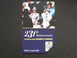 531 GOLDEN EURO - 231° ANNIVERSARIO GUARDIA DI FINANZA - USATA PERFETTA - Public Advertising
