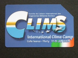 529 GOLDEN EURO - INTERNATIONAL CLIMS CAMP - USATA PERFETTA - Public Advertising