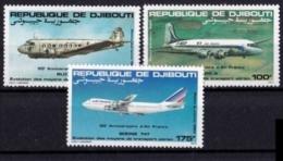 DSCHIBUTI Mi. Nr. 363-365 ** (A-1-2) - Dschibuti (1977-...)