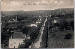 18 SAINT SATUR - Avenue De Fontenay --- - Saint-Satur