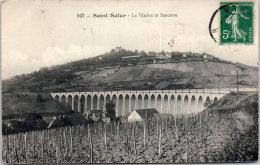 18 SAINT SATUR - Viaduc Et Sancerre --- - Saint-Satur