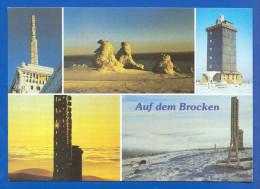 Deutschland; Brocken Harz; Multibildkarte - Deutschland