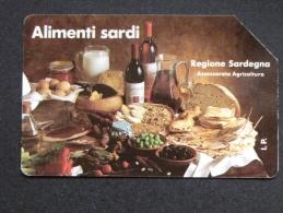 198 GOLDEN - ALIMENTI SARDI LIRE 5.000 - USATA - Italia