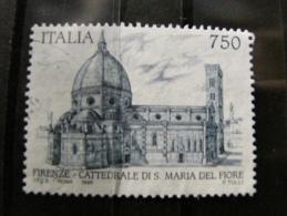 ITALIA USATI 1996 - CATTEDRALE S. MARIA DEL FIORE FIRENZE - RIF. G 1733 - 6. 1946-.. Repubblica