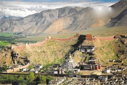 Tibet - Gyantse Monastery - View From Gyantse Great Fortress - Tibet