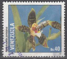 Venezuela   Scott No.  1447g    Used    Year  1991 - Venezuela
