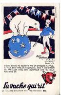 Buvard Vache Qui Rit Série Cirque N° 4 - Ours - Alimentare