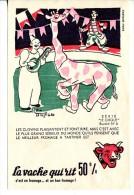 """Buvard La Vache Qui Rit Série """"Le Cirque"""" N°6 - Clowns - Alimentare"""