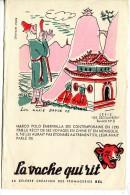 """Buvard La Vache Qui Rit Série """"les Découvertes"""" N°8 -Marco Polo è Récits De Ses Voyages En Chine Et En Mongolie - Alimentare"""