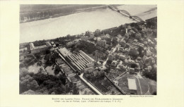 1929 - Rare Iconographie - Lyon (Rhône) - Usine Des Lampes Fotos - FRANCO DE PORT - Old Paper