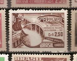 Brazil * & II Expansion Of The National Company Siderurgica, Volta Redonda 1957 (626) - Fabbriche E Imprese