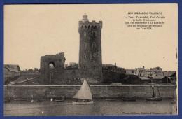 85 SABLES D'OLONNE La Tour D'Arundel ; Canots, Voilier - Sables D'Olonne