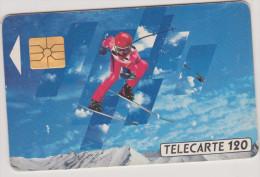 (R)telecarte , Les Xvl Em Jeux Olympiques D´hiver ,  120 Unités - Sport