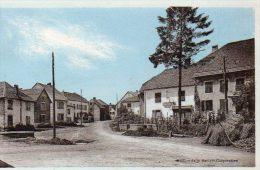 CPA - MONTECHEROUX (25) - Vue De La Grande Rue , De La Poste Et De L'Abreuvoir - Altri Comuni