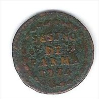 PARMA SESINO 1784 FERDINANDO DI BORBONE - Regional Coins