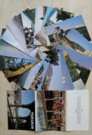Post Cards In Folder From Ussr Georgia Tbilisi 18 Cards - Georgia