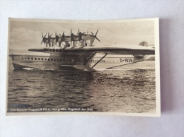 Das Dornier Flugschiff DO X, Das Grobte Flugschiff Der Welt - Cartolina FP NV 1932 - 1919-1938: Between Wars