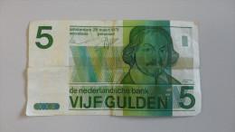15ZB - 5 Gulden 28 Maart 1973 - [2] 1815-… : Royaume Des Pays-Bas