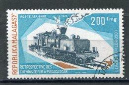 MADAGASCAR  N° 141  (Y&T)  (Poste Aérienne) (Oblitéré) - Madagaskar (1960-...)