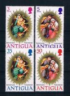 Antigua 1970 Weihnachten Mi.Nr. 268/71 Kpl. Satz ** - Antigua Und Barbuda (1981-...)