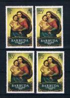 Barbuda 1969 Weihnachten Mi.Nr. 38/41 Kpl. Satz ** - Antigua Und Barbuda (1981-...)