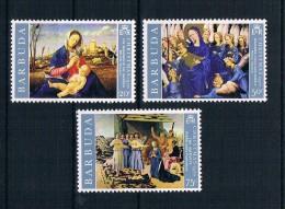 Barbuda 1970 Weihnachten Mi.Nr. 69/71 Kpl. Satz ** - Antigua Und Barbuda (1981-...)