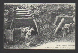 DF / 71 SAÔNE ET LOIRE / MONTCEAU LES MINES / CARRIÈRE SAINT-FRANÇOIS / ANIMÉE - Montceau Les Mines