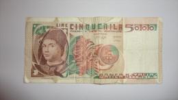 15ZB - 5000 Lires UA 502762 B 1979 - [ 2] 1946-… : République