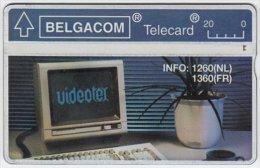 BELGIUM A-868 Hologram Belgacom - 211C - used