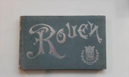 76 - ROUEN - Très Beau Carnet De 28 Vues Dont 4 Panoramiques - Pas Imprimé En Carte Postale - Vieux Papiers