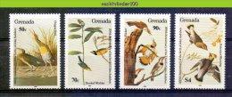 Nbm0509 FAUNA VOGELS AUDUBON BIRDS VÖGEL AVES OISEAUX GRENADA 1985 PF/MNH - Verzamelingen, Voorwerpen & Reeksen