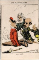 """Paris Illustration De FD""""la Commune De Paris En 1871 Les Capitulards """" ( Musée De Saint Denis) - Sonstige"""
